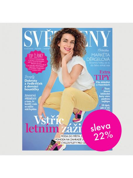 Roční tištěné předplatné Svět ženy se slevou 22%