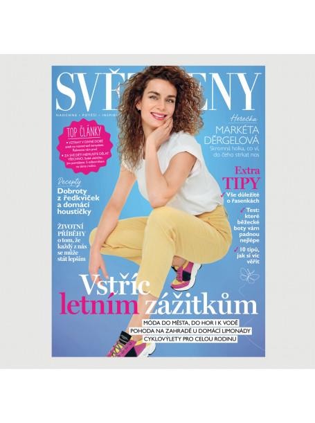 Aktuální vydání Svět Ženy  6/2020 (pouze pro ČR)