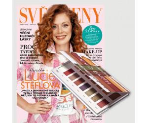 Roční předplatné Svět ženy + paletka očních stínů Sephora
